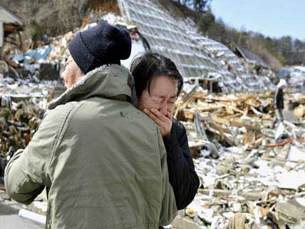 Japanese disaster survivors