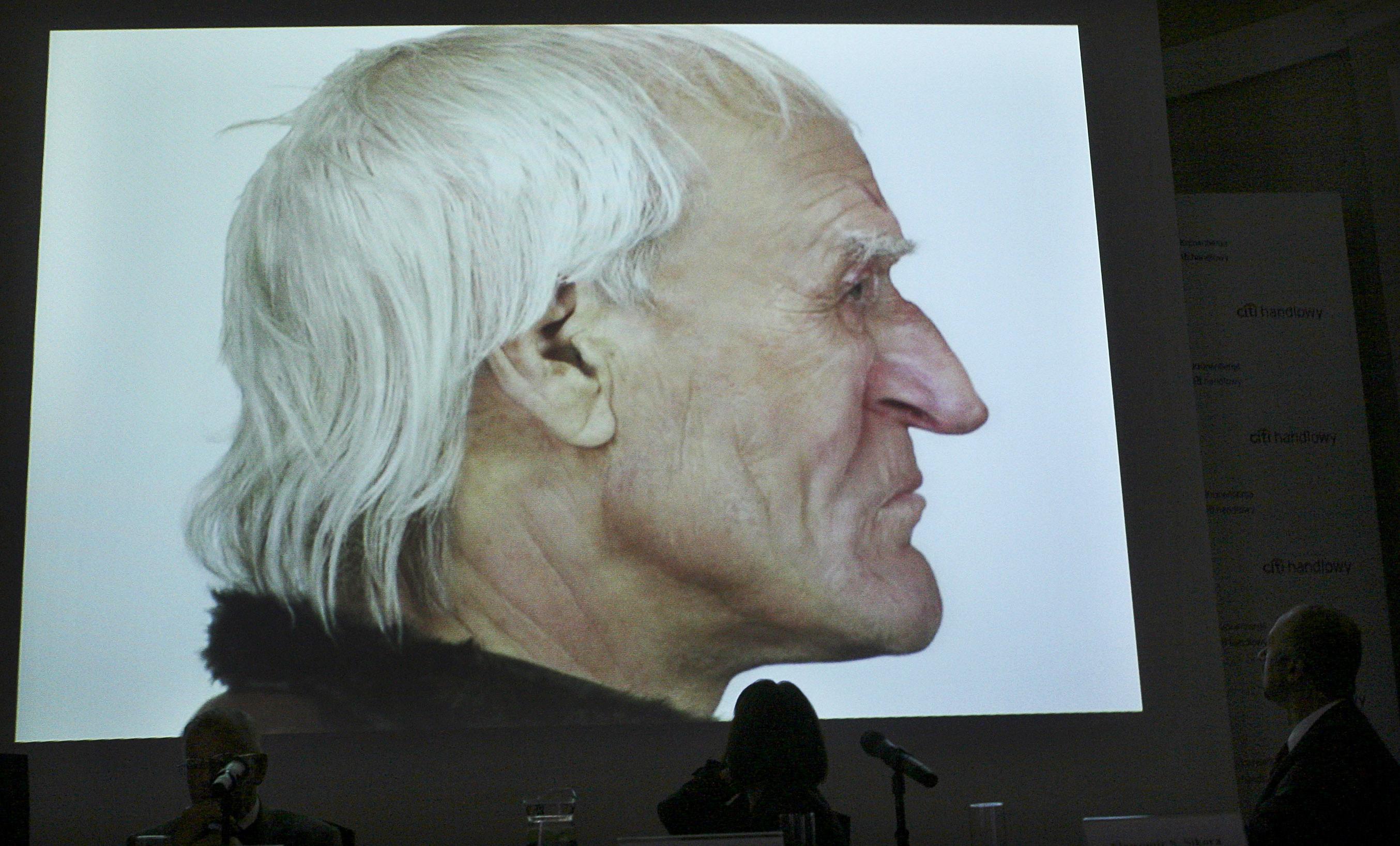 Face of Copernicus
