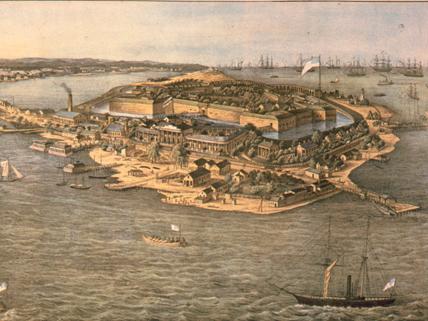 Fort Monroe circa 1861