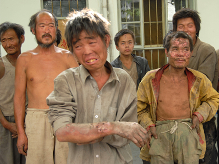 rescued Chinese brick workers
