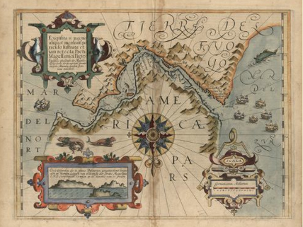 Award-Winning Map Highlights Golden Age of Cartography | HMH Current on