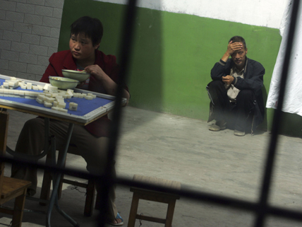 isolated, untended patients at a Chinese mental institution