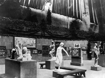 1913 Armory Show exhibit